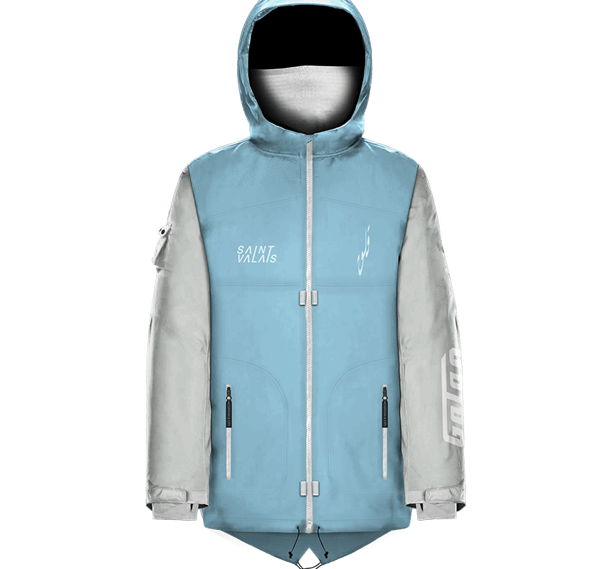 All Climate Parka – blue